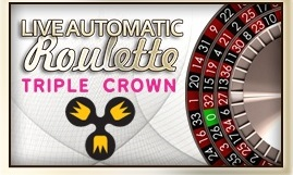 Fazi - Live Automatic Triple Crown Roulette